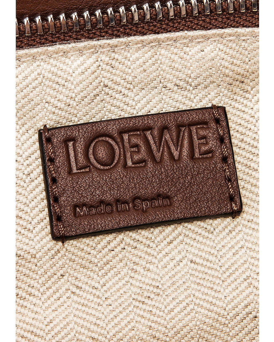 Image 7 of Loewe Puzzle Small Bag in Black & Brunette