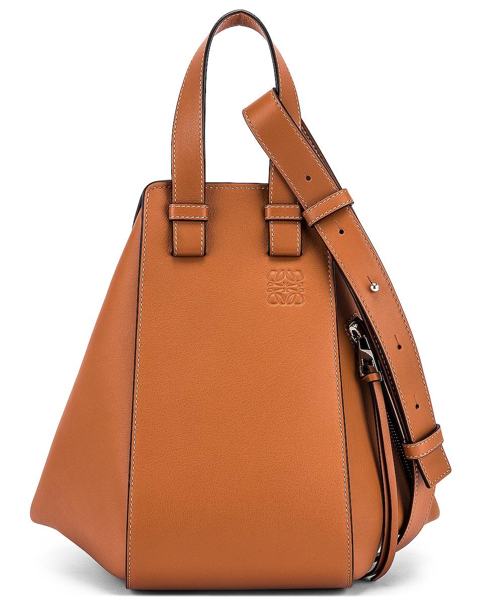 Image 1 of Loewe Hammock Small Bag in Tan