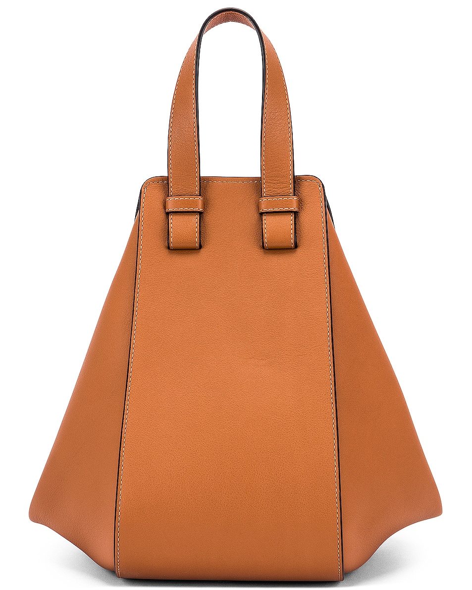 Image 3 of Loewe Hammock Small Bag in Tan