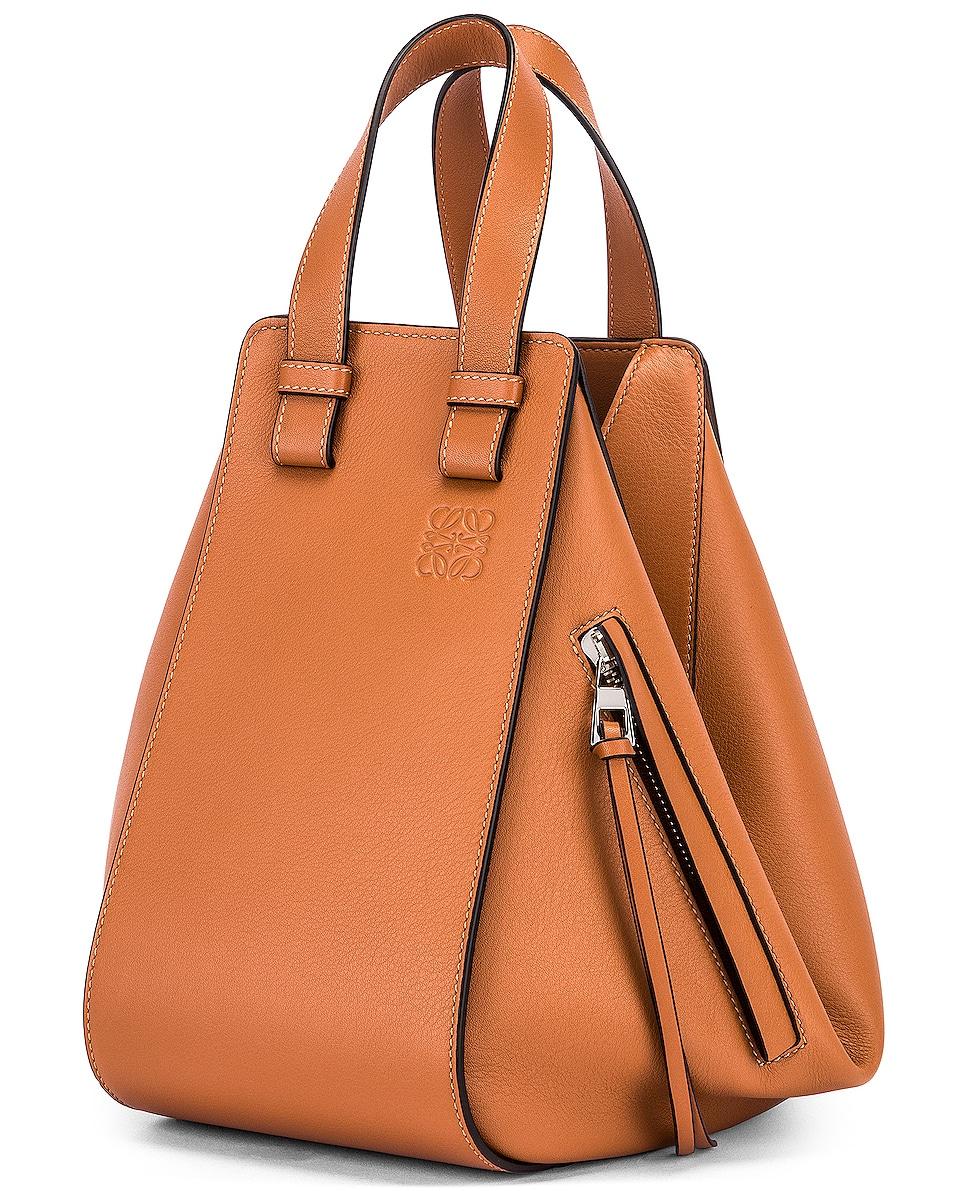 Image 4 of Loewe Hammock Small Bag in Tan
