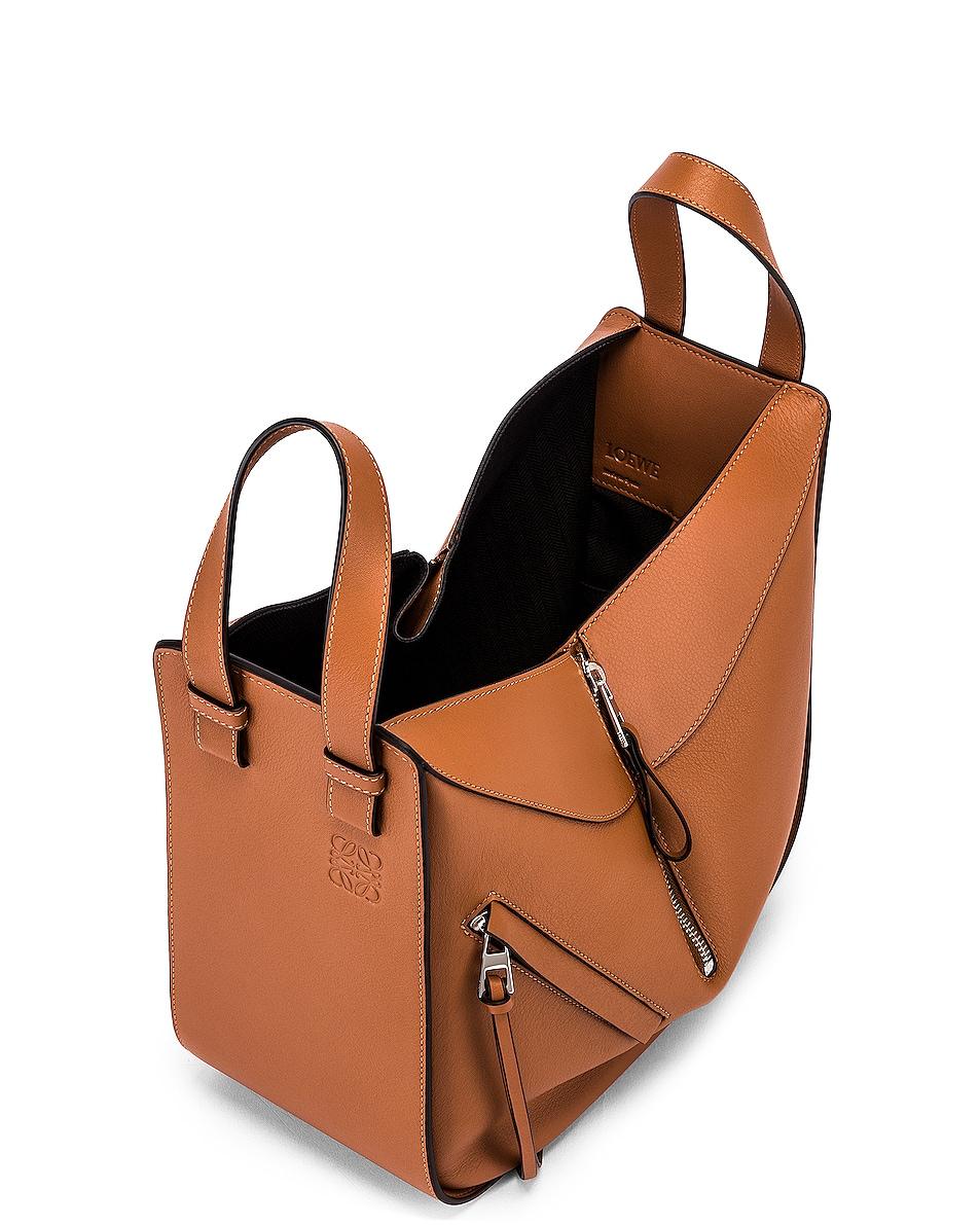 Image 5 of Loewe Hammock Small Bag in Tan