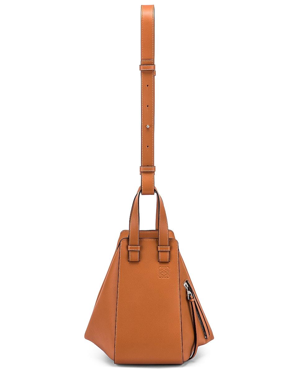 Image 6 of Loewe Hammock Small Bag in Tan