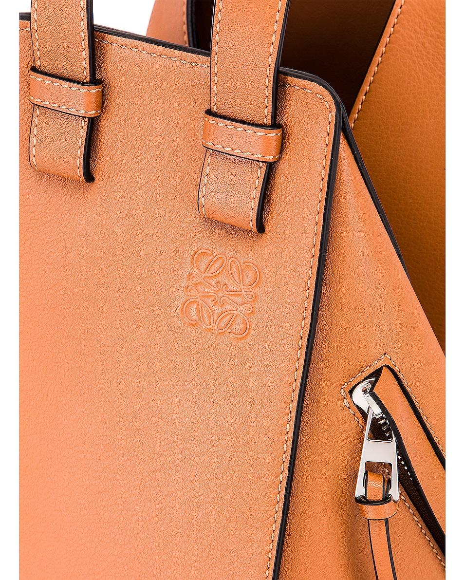 Image 8 of Loewe Hammock Small Bag in Tan