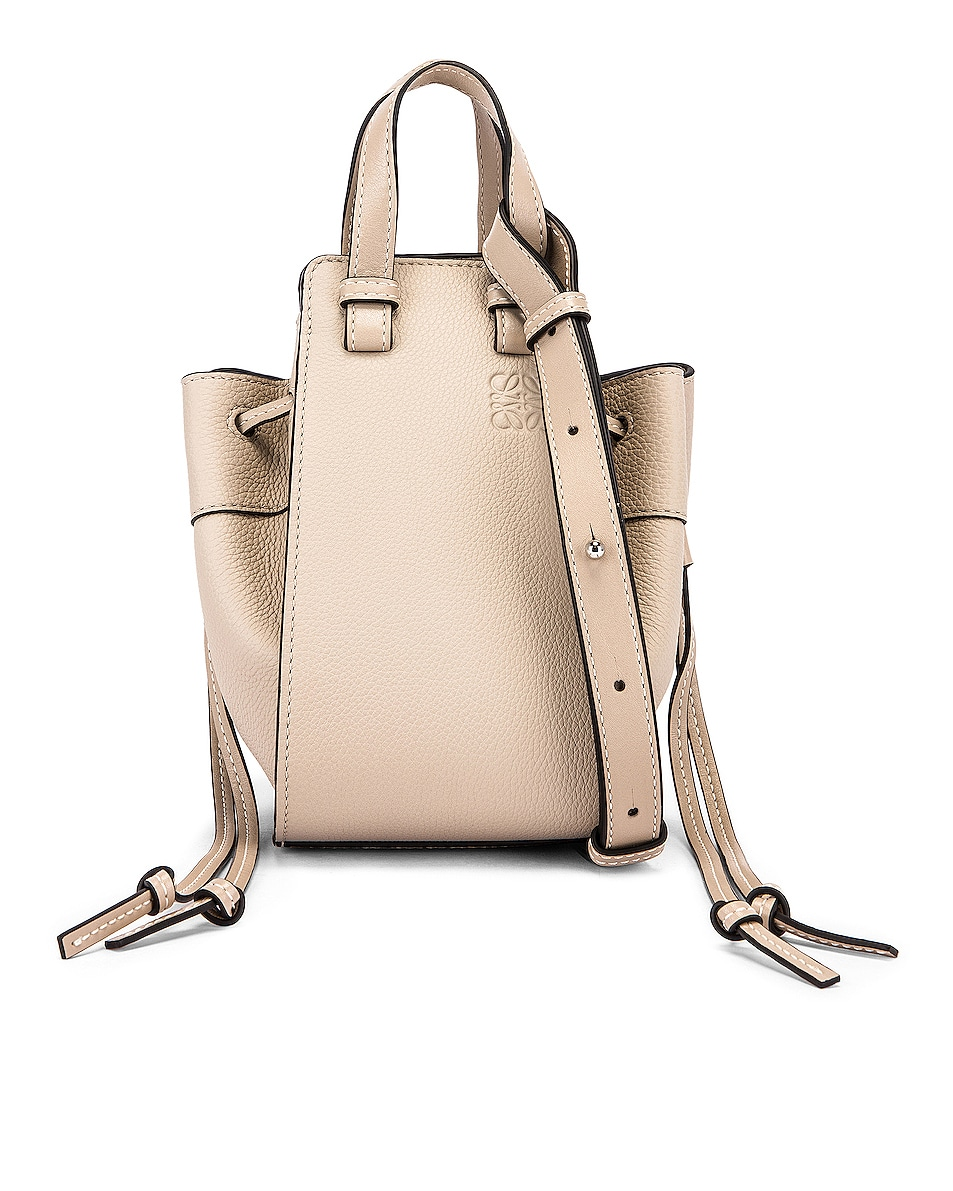 Image 1 of Loewe Hammock DW Mini Bag in Light Oat