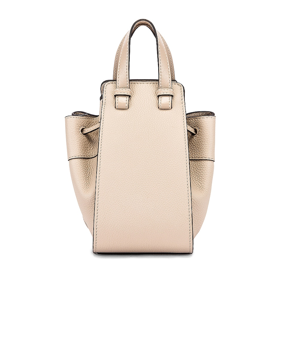 Image 3 of Loewe Hammock DW Mini Bag in Light Oat