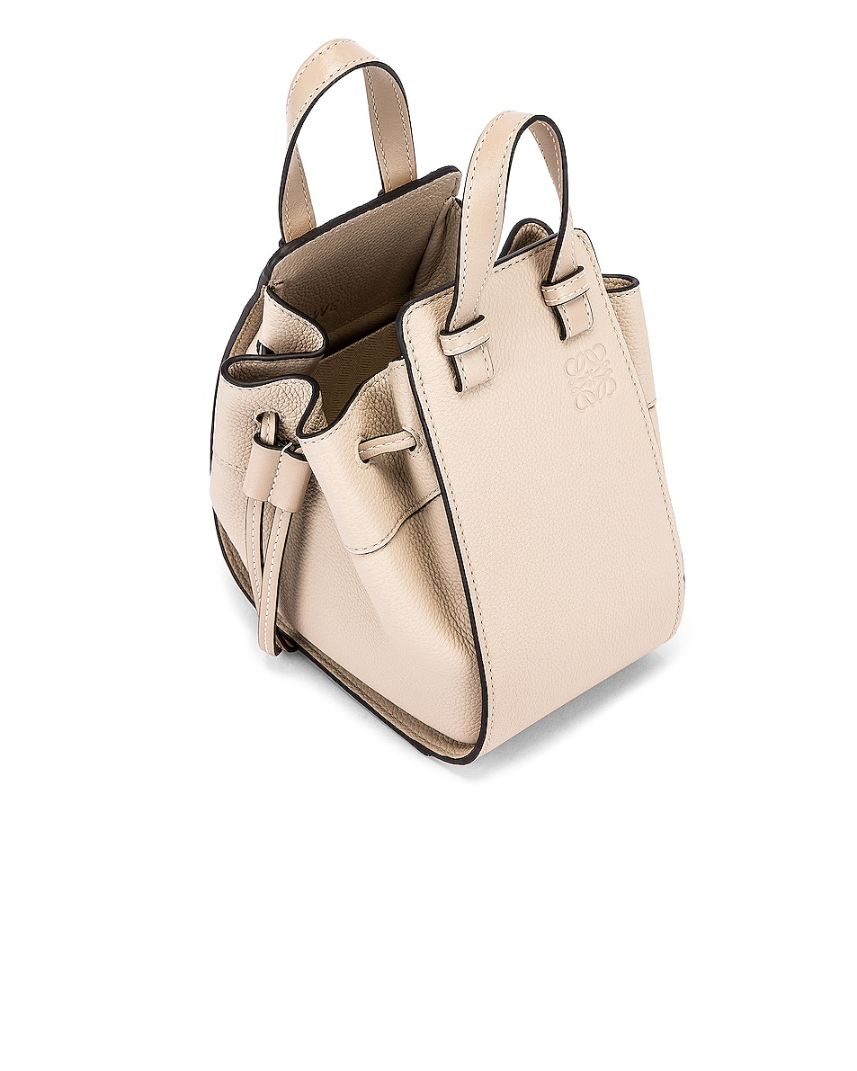 Image 4 of Loewe Hammock DW Mini Bag in Light Oat