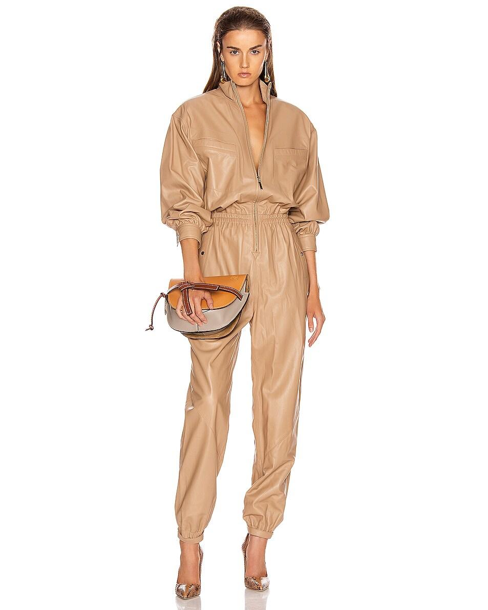 Image 2 of Loewe Gate Small Bag in Amber Light & Grey Rust