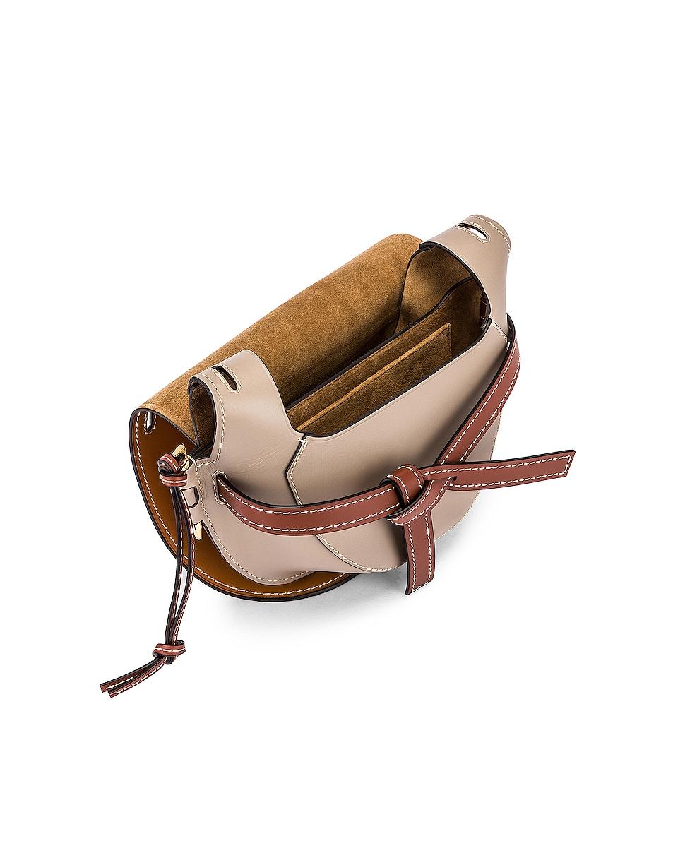 Image 4 of Loewe Gate Small Bag in Amber Light & Grey Rust