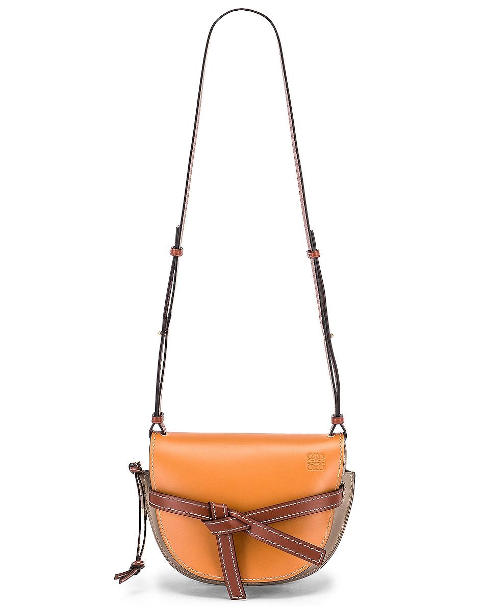 Image 5 of Loewe Gate Small Bag in Amber Light & Grey Rust