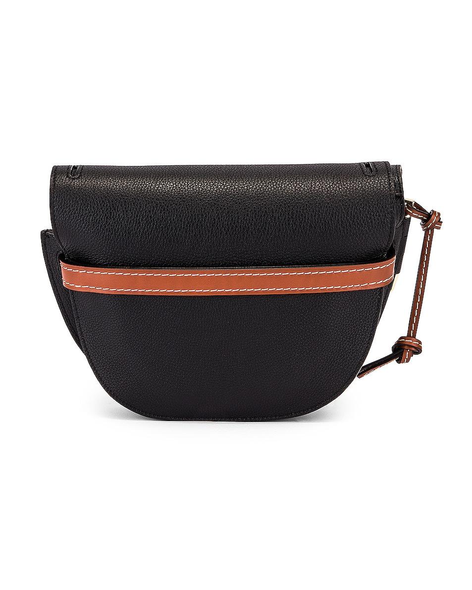Image 3 of Loewe Gate Small Bag in Black & Pecan