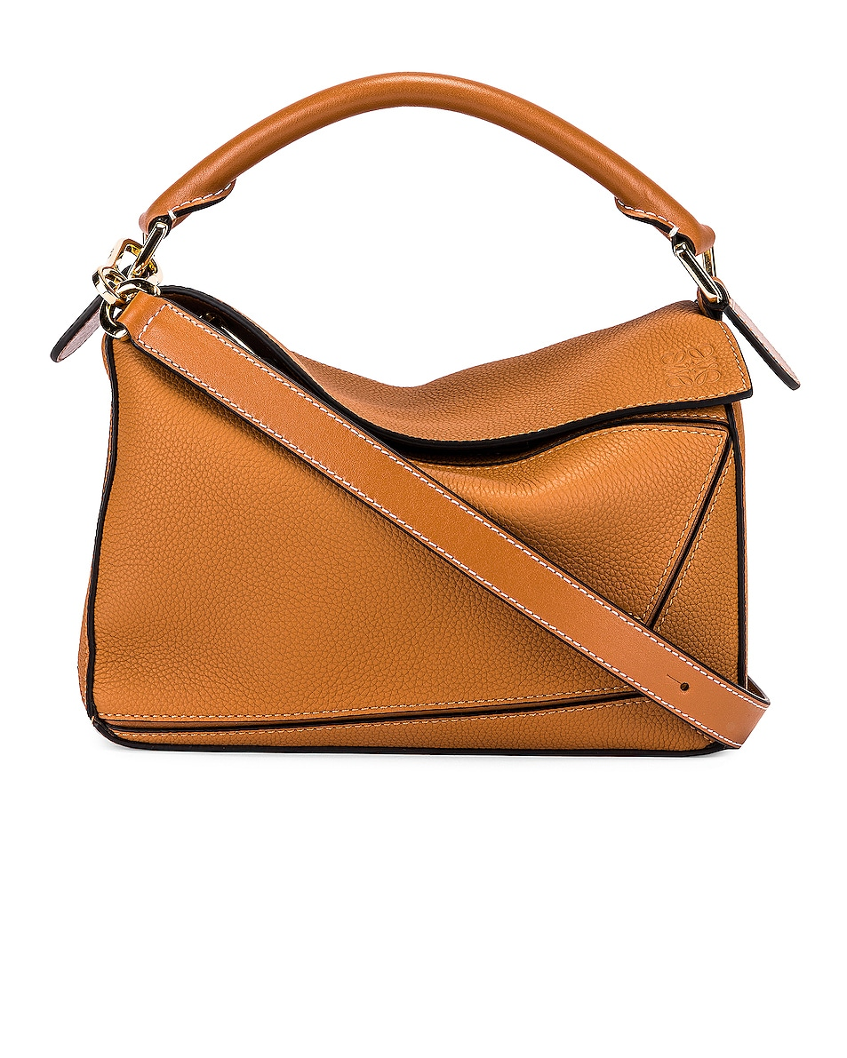 Image 1 of Loewe Puzzle Small Bag in Light Caramel