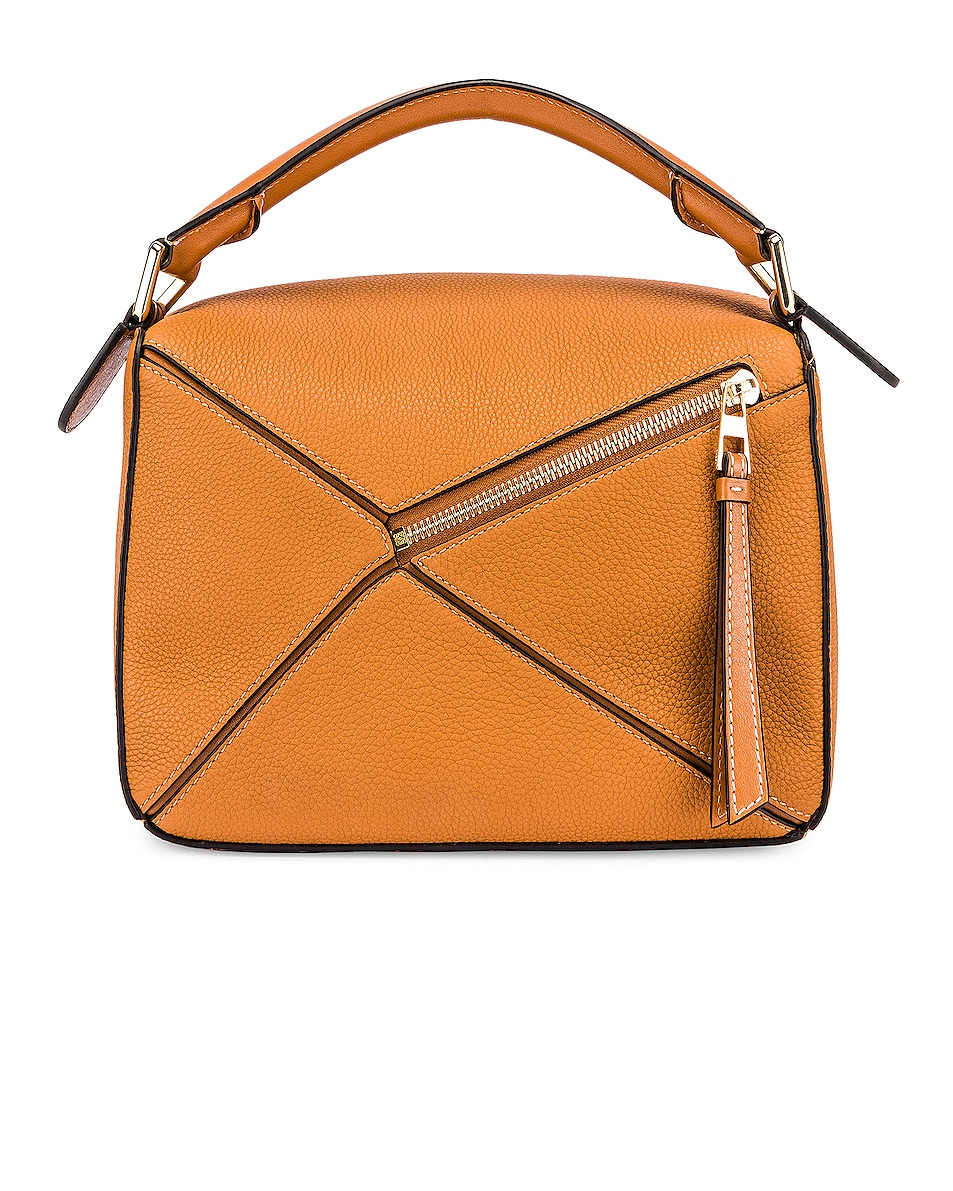 Image 3 of Loewe Puzzle Small Bag in Light Caramel