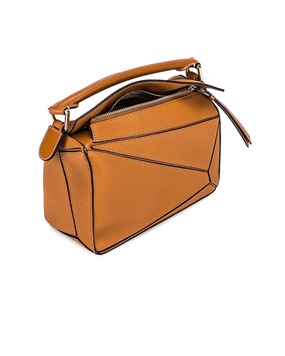 Image 5 of Loewe Puzzle Small Bag in Light Caramel
