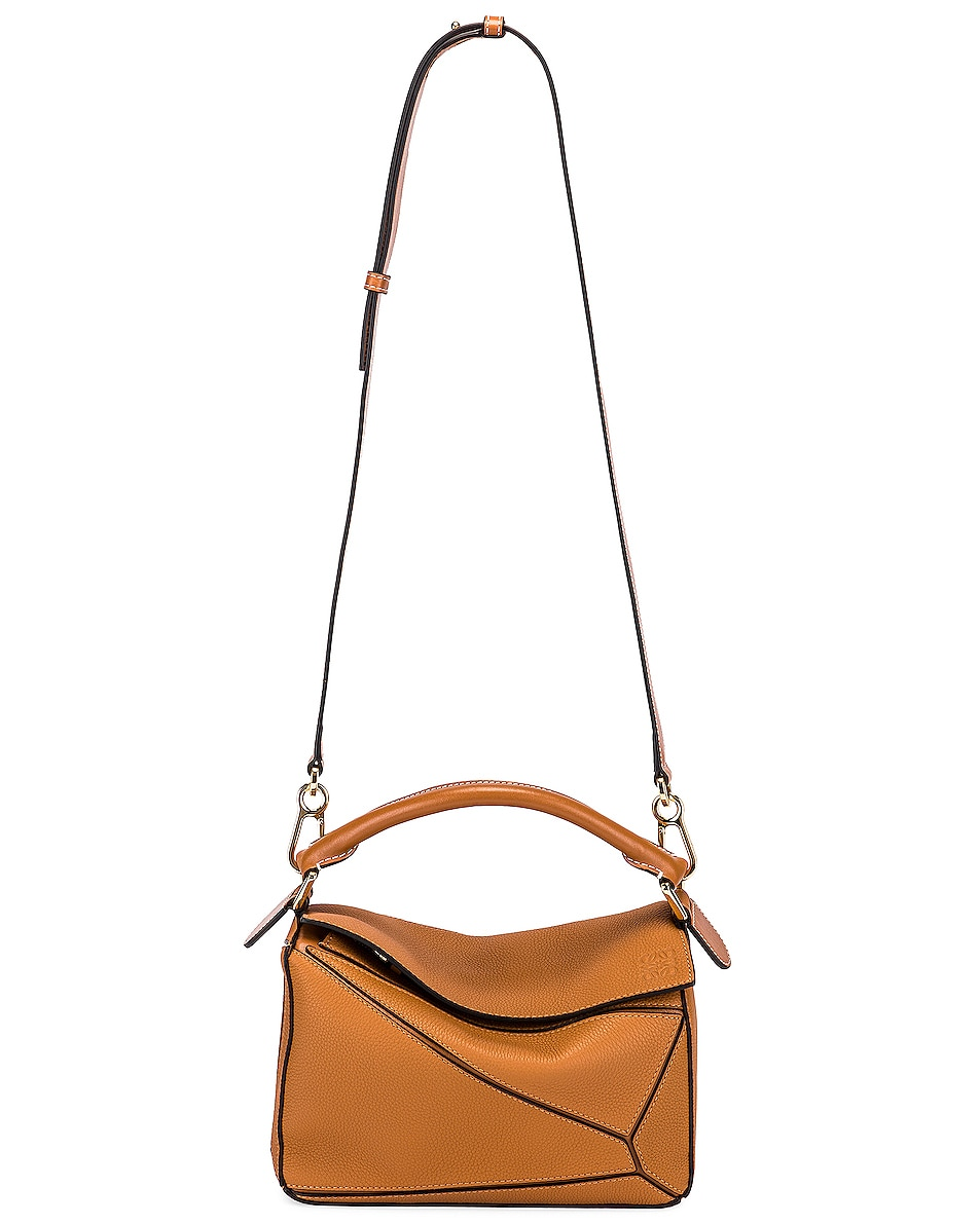 Image 6 of Loewe Puzzle Small Bag in Light Caramel