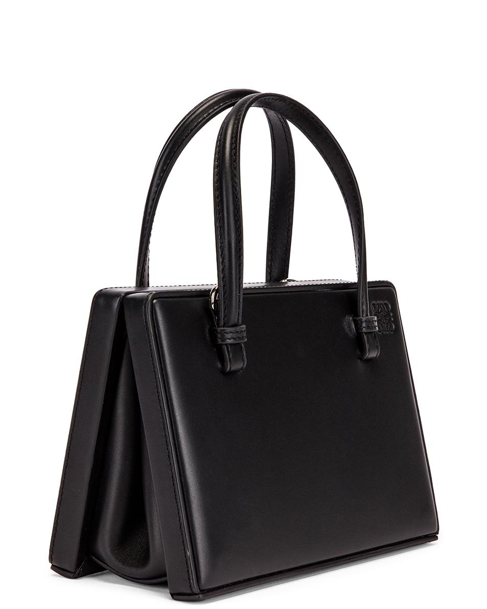 Image 4 of Loewe Box Small Bag in Black