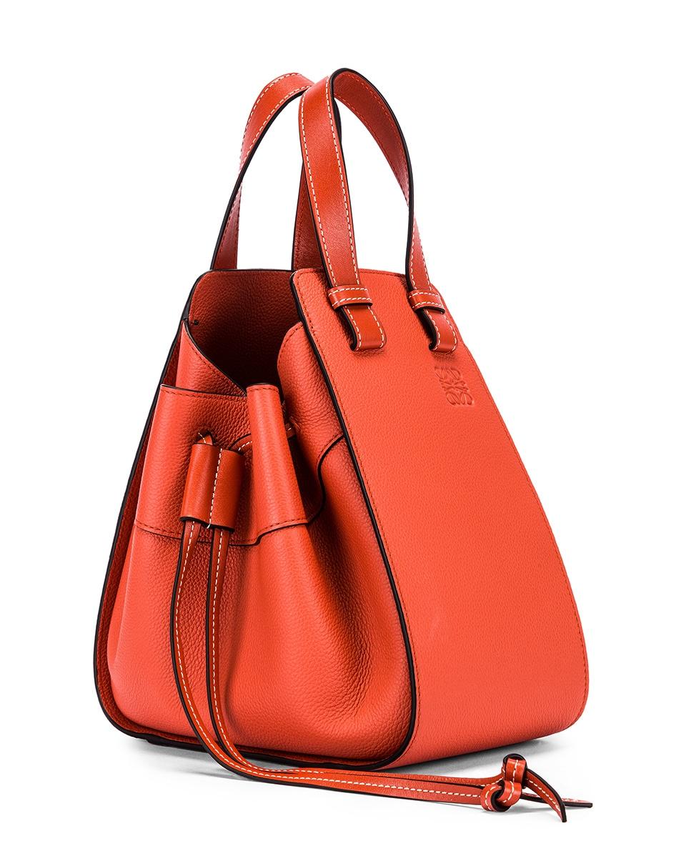 Image 4 of Loewe Hammock DW Small Bag in Vermillion