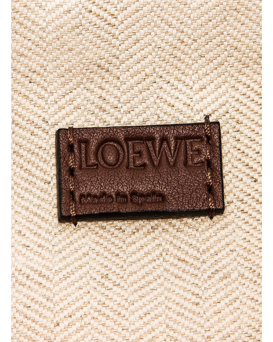 Image 7 of Loewe Puzzle Mini Rugby Bag in Brunette & Soft White