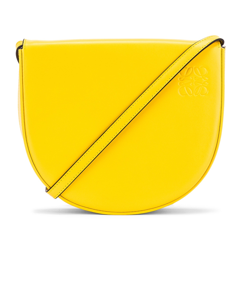 Image 1 of Loewe Heel Bag in Yellow