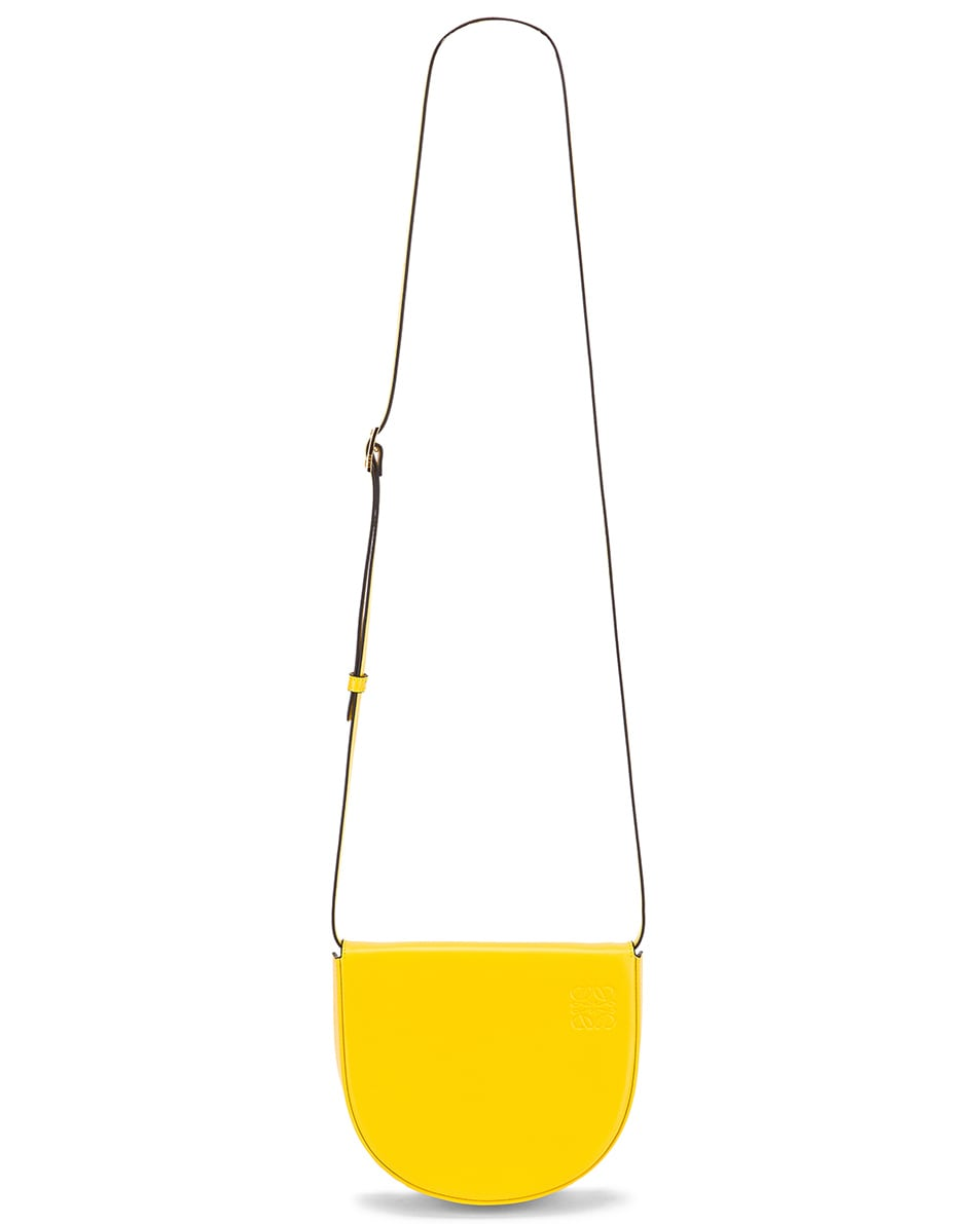 Image 6 of Loewe Heel Bag in Yellow