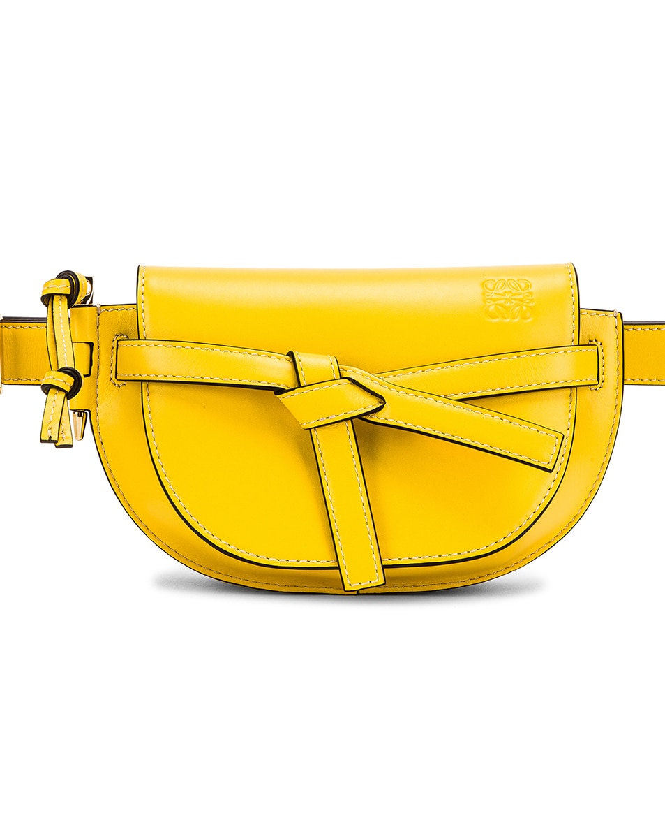 Image 1 of Loewe Gate Bumbag in Yellow
