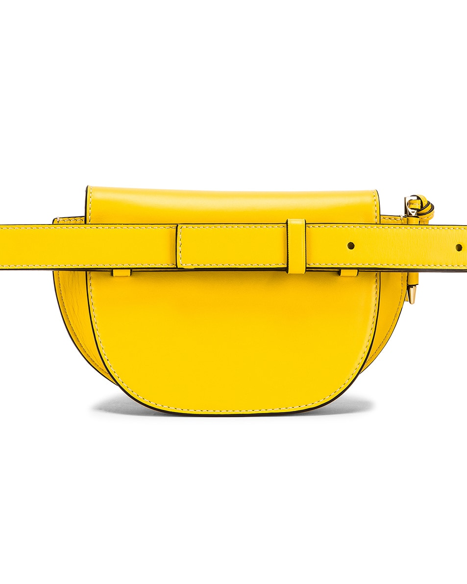 Image 2 of Loewe Gate Bumbag in Yellow