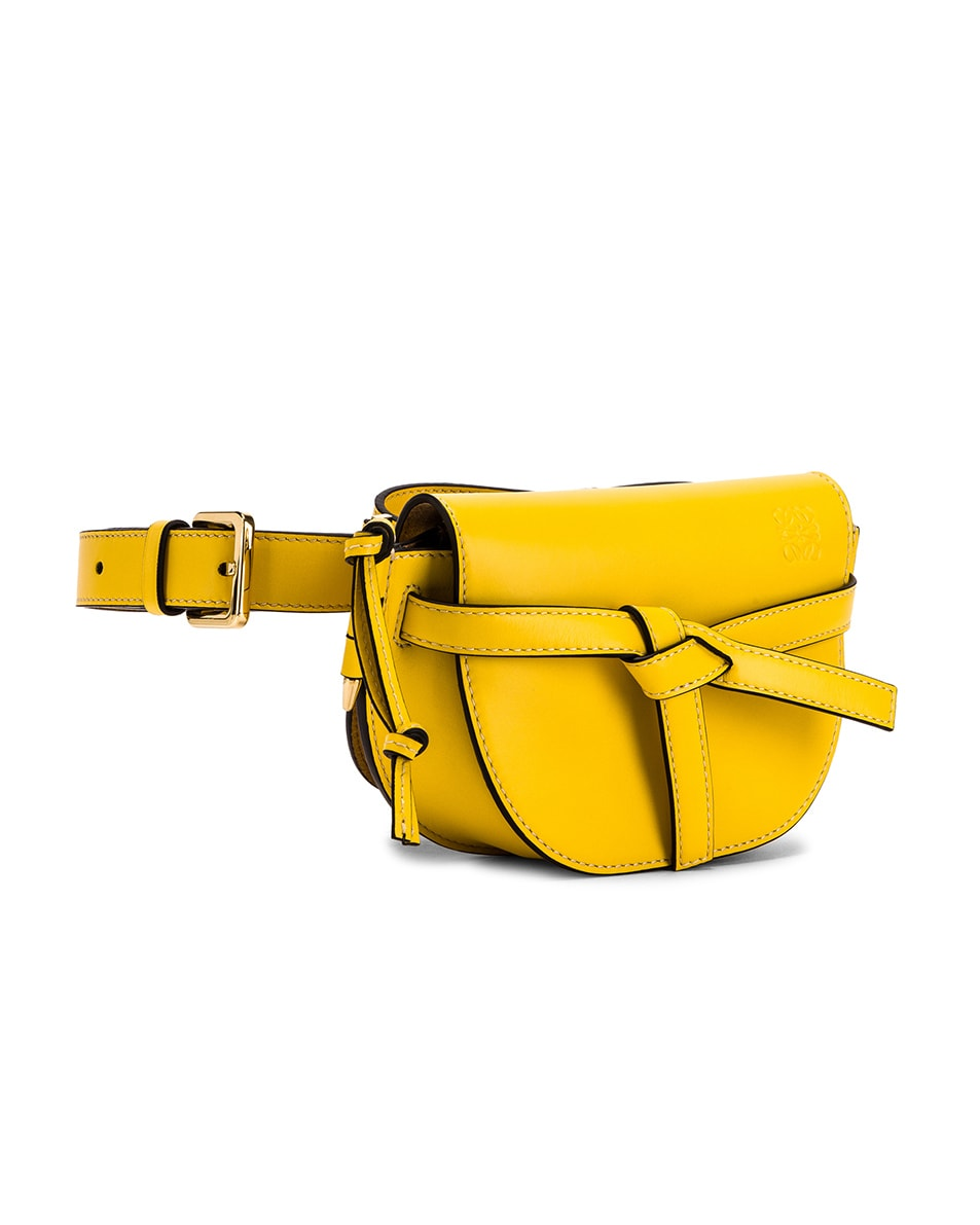 Image 3 of Loewe Gate Bumbag in Yellow