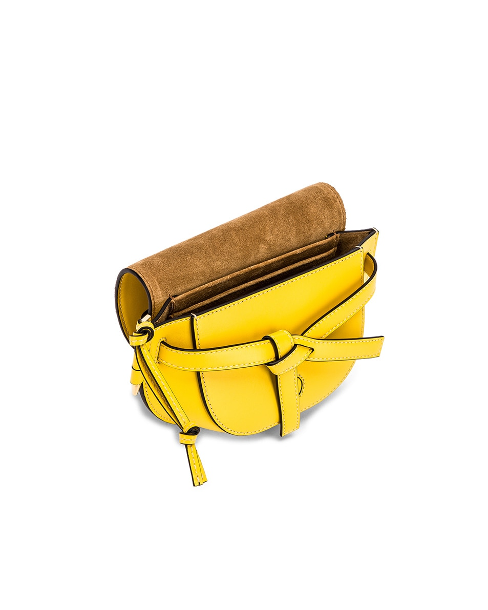 Image 4 of Loewe Gate Bumbag in Yellow