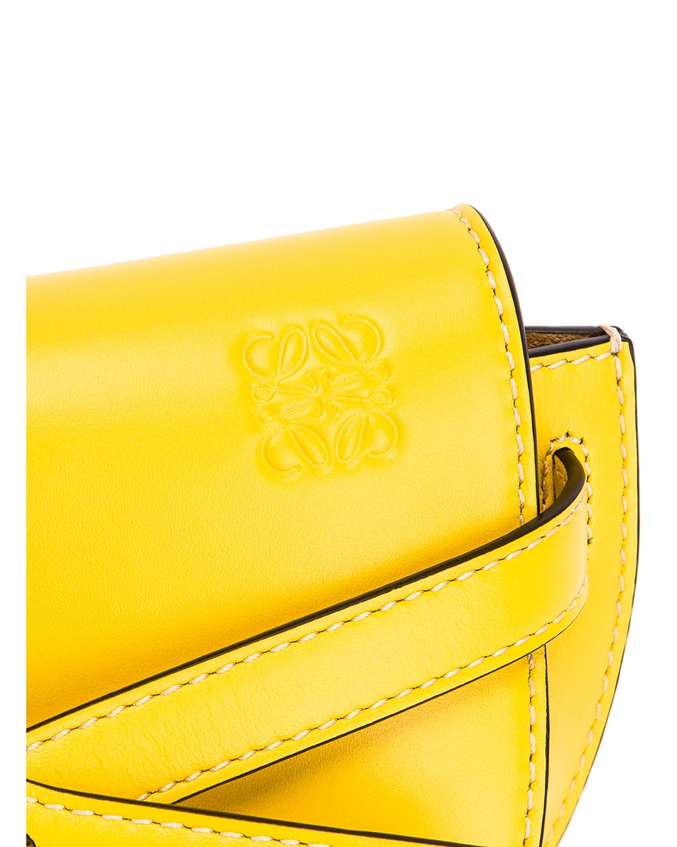 Image 7 of Loewe Gate Bumbag in Yellow