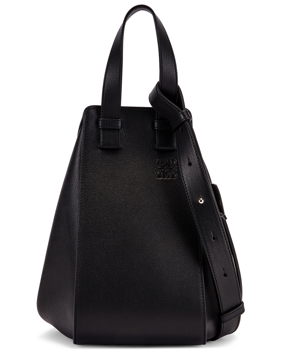 Image 1 of Loewe Hammock Small Bag in Black