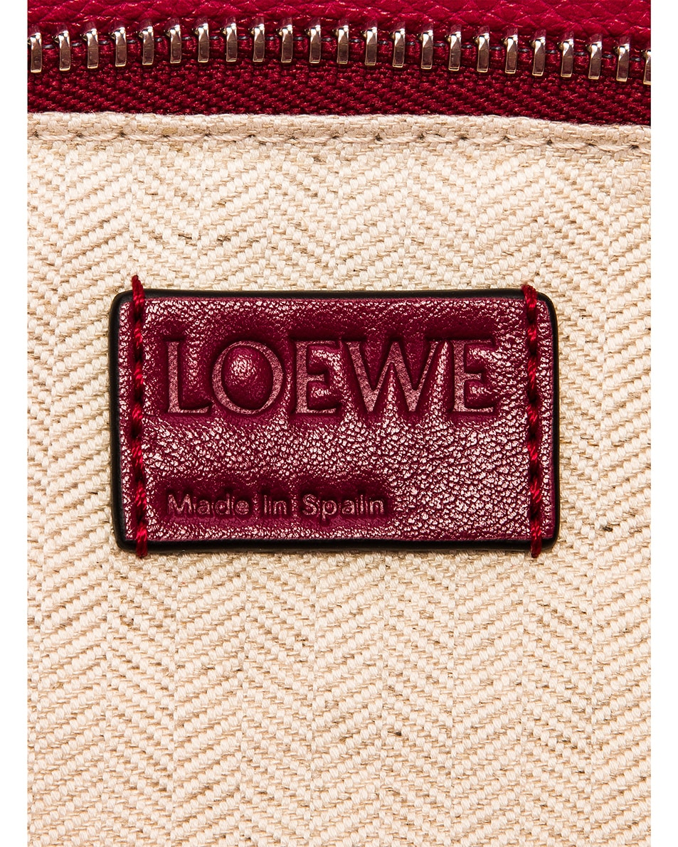 Image 7 of Loewe Puzzle Small Bag in Raspberry