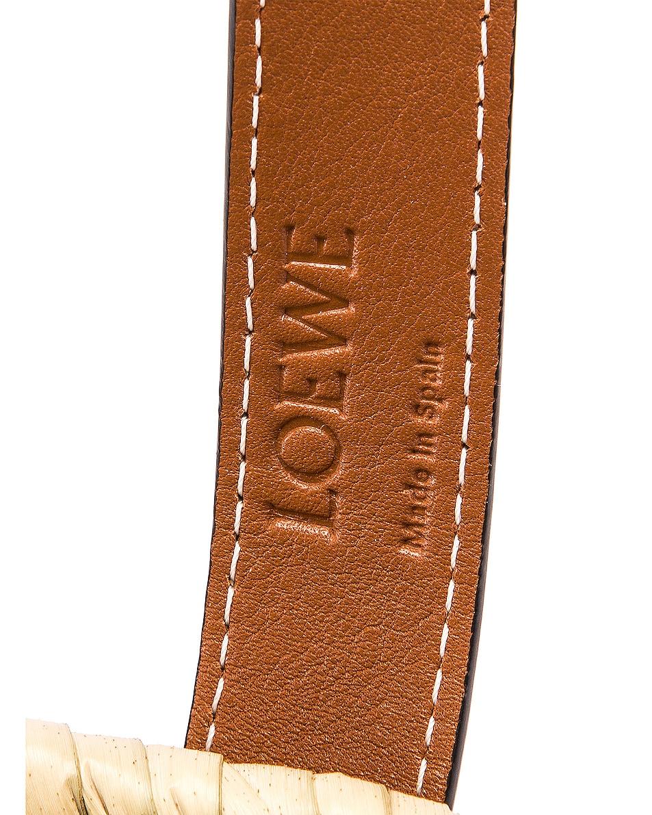 Image 6 of Loewe Basket Small Bag in Natural & Tan