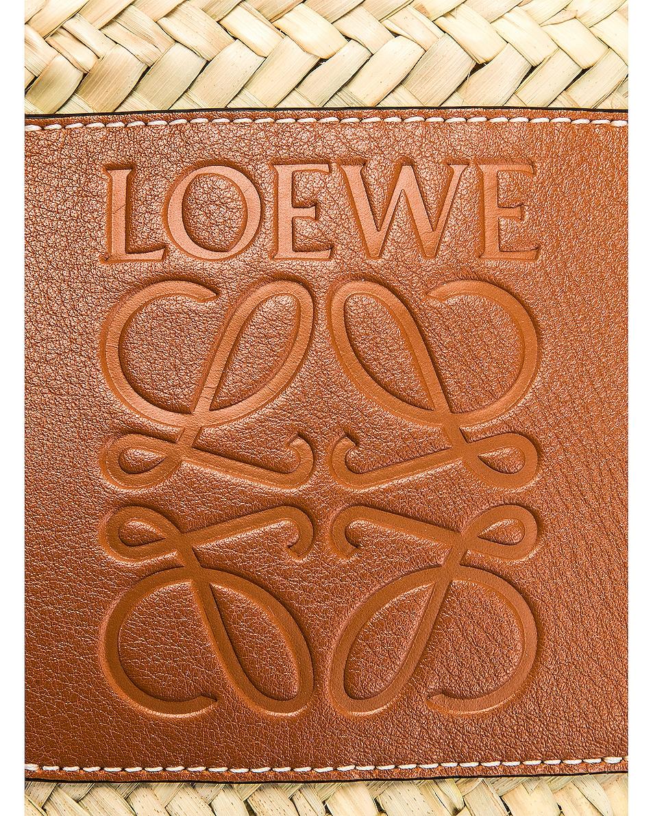 Image 7 of Loewe Basket Small Bag in Natural & Tan