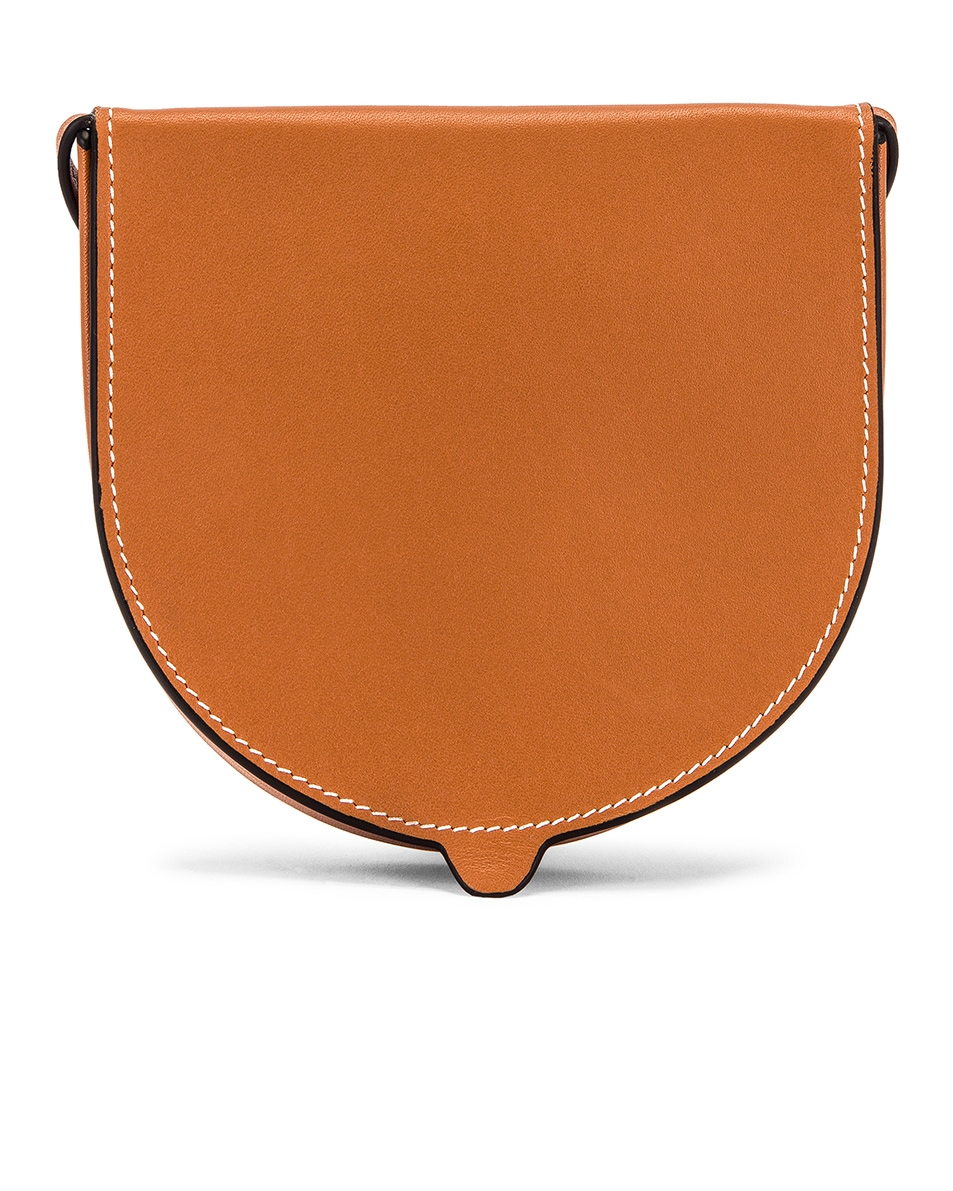 Image 3 of Loewe Heel Pouch Bag in Tan