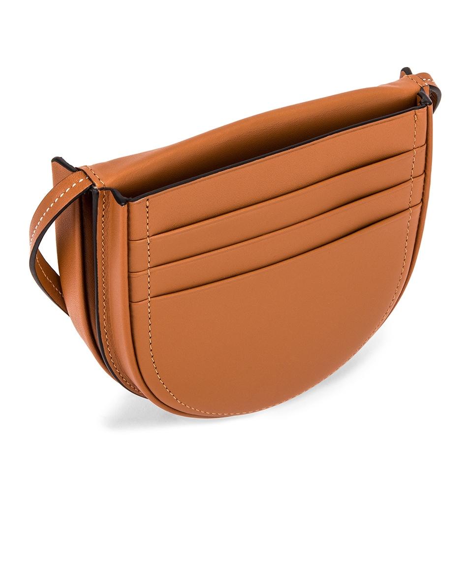 Image 5 of Loewe Heel Pouch Bag in Tan
