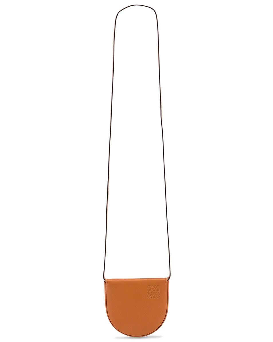 Image 6 of Loewe Heel Pouch Bag in Tan