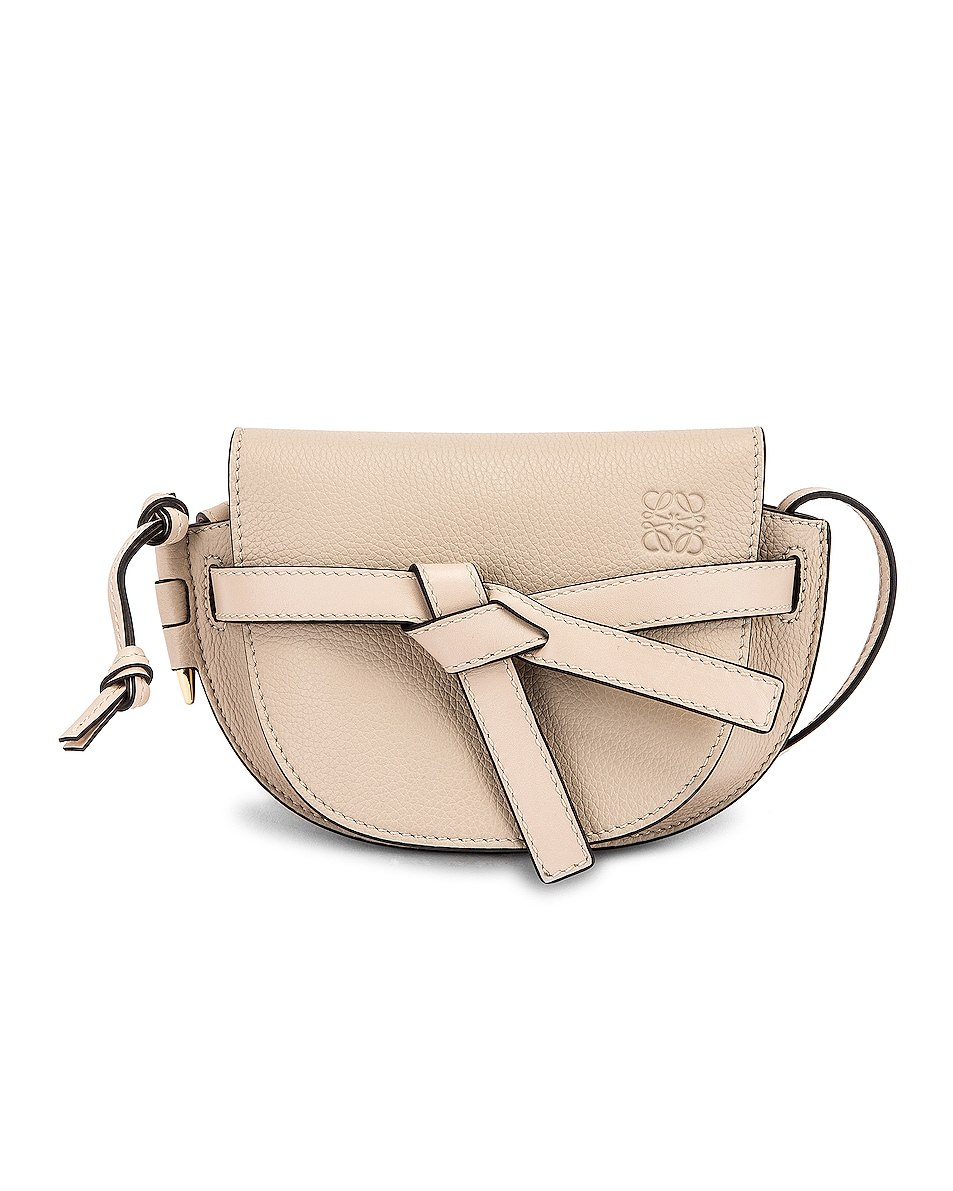 Image 1 of Loewe Gate Mini Bag in Light Oat