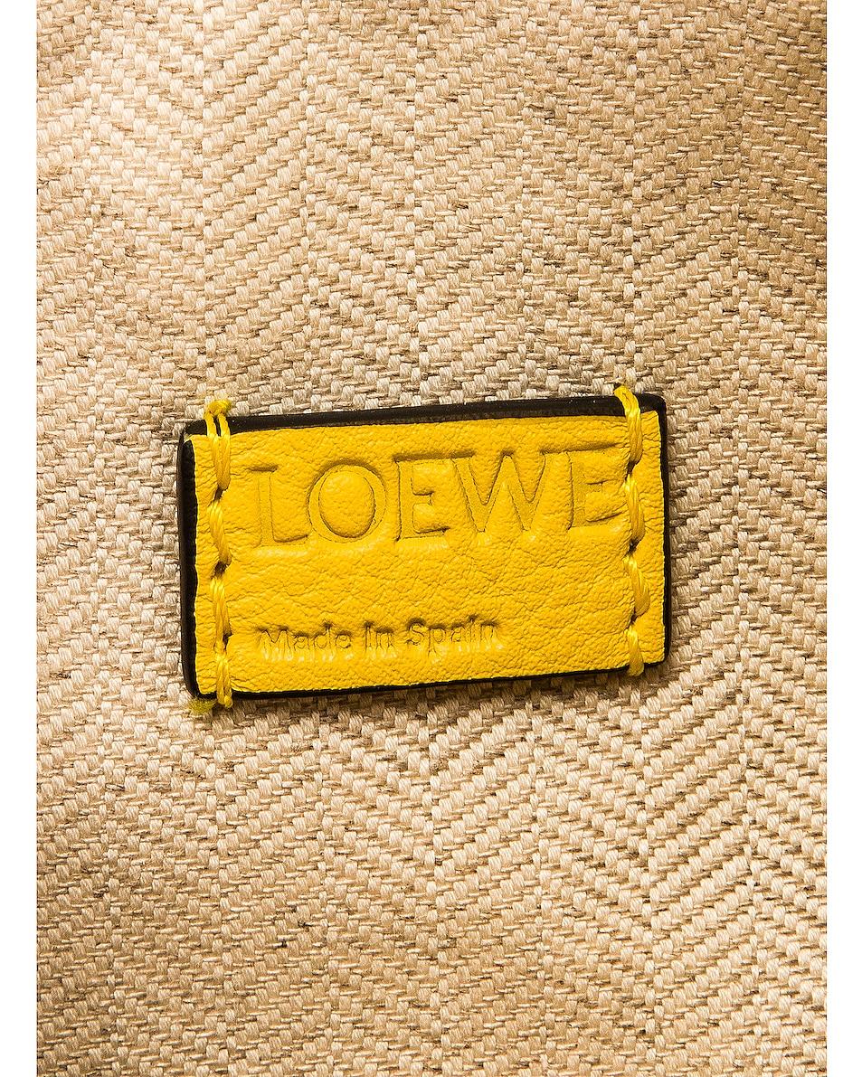 Image 7 of Loewe Puzzle Mini Bag in Yellow