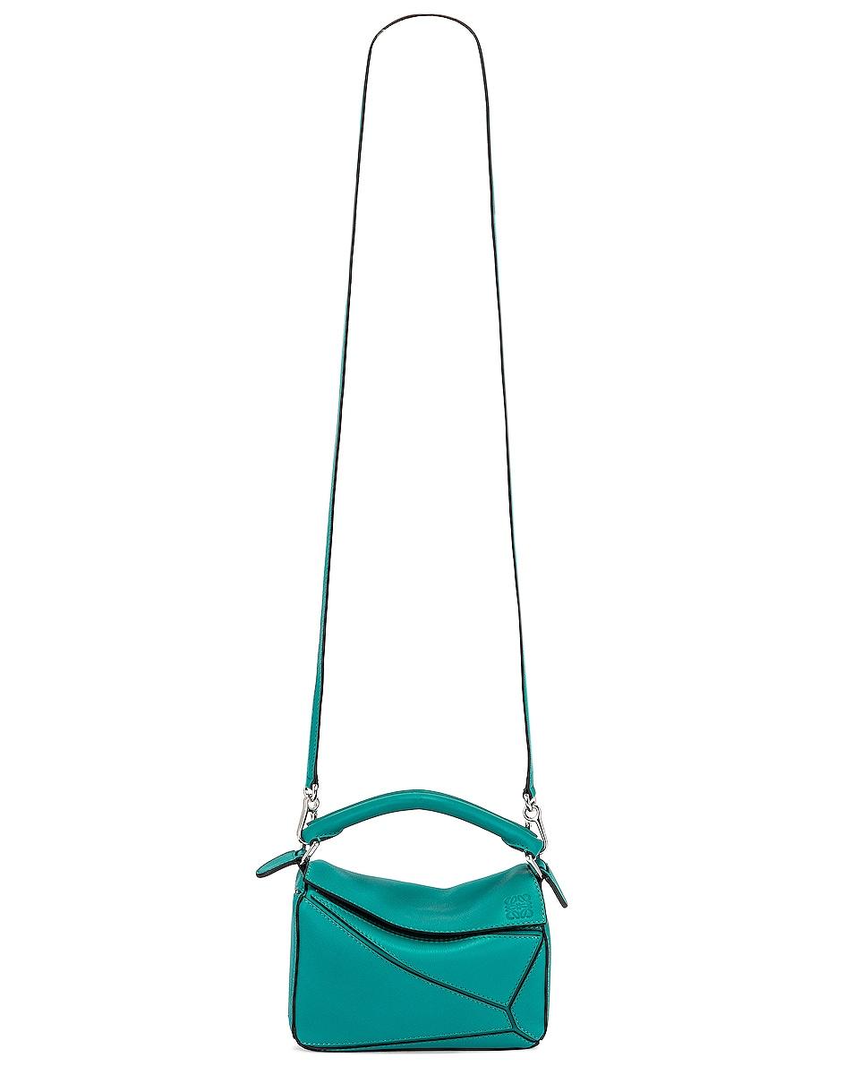 Image 6 of Loewe Puzzle Mini Bag in Emerald Green