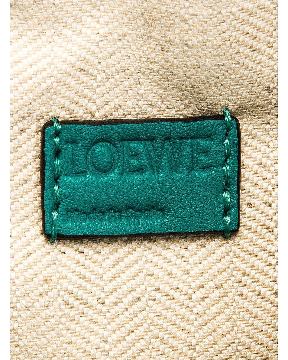 Image 7 of Loewe Puzzle Mini Bag in Emerald Green