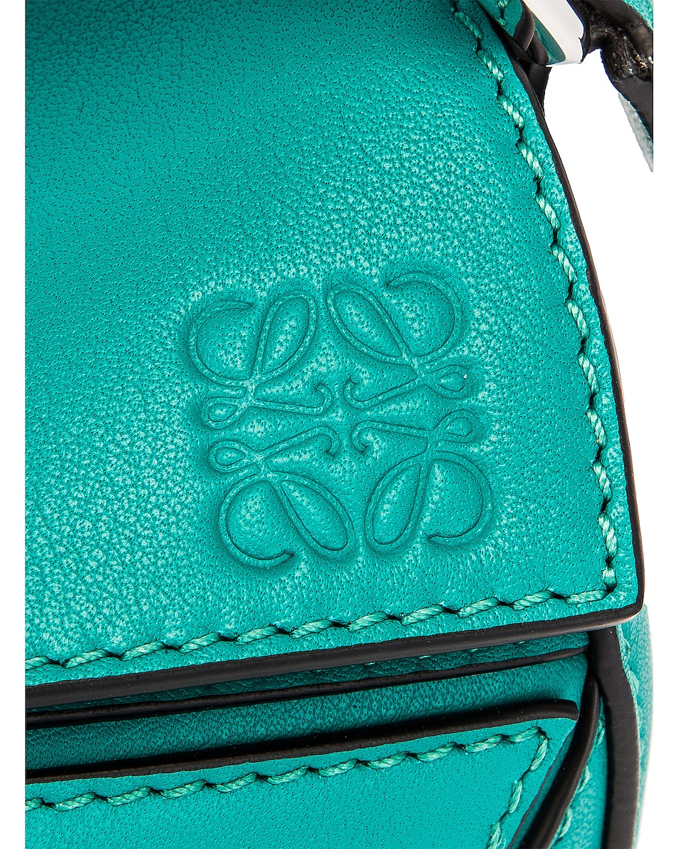 Image 8 of Loewe Puzzle Mini Bag in Emerald Green