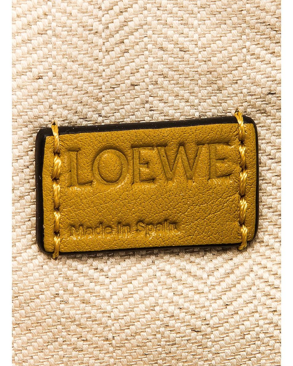 Image 7 of Loewe Puzzle Mini Bag in Ochre & Yellow