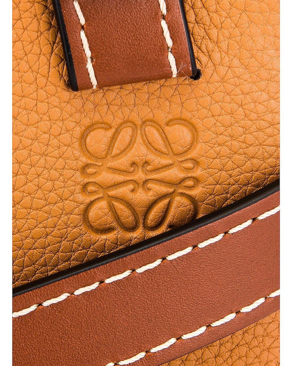 Image 8 of Loewe Gate Top Handle Mini Bag in Light Caramel