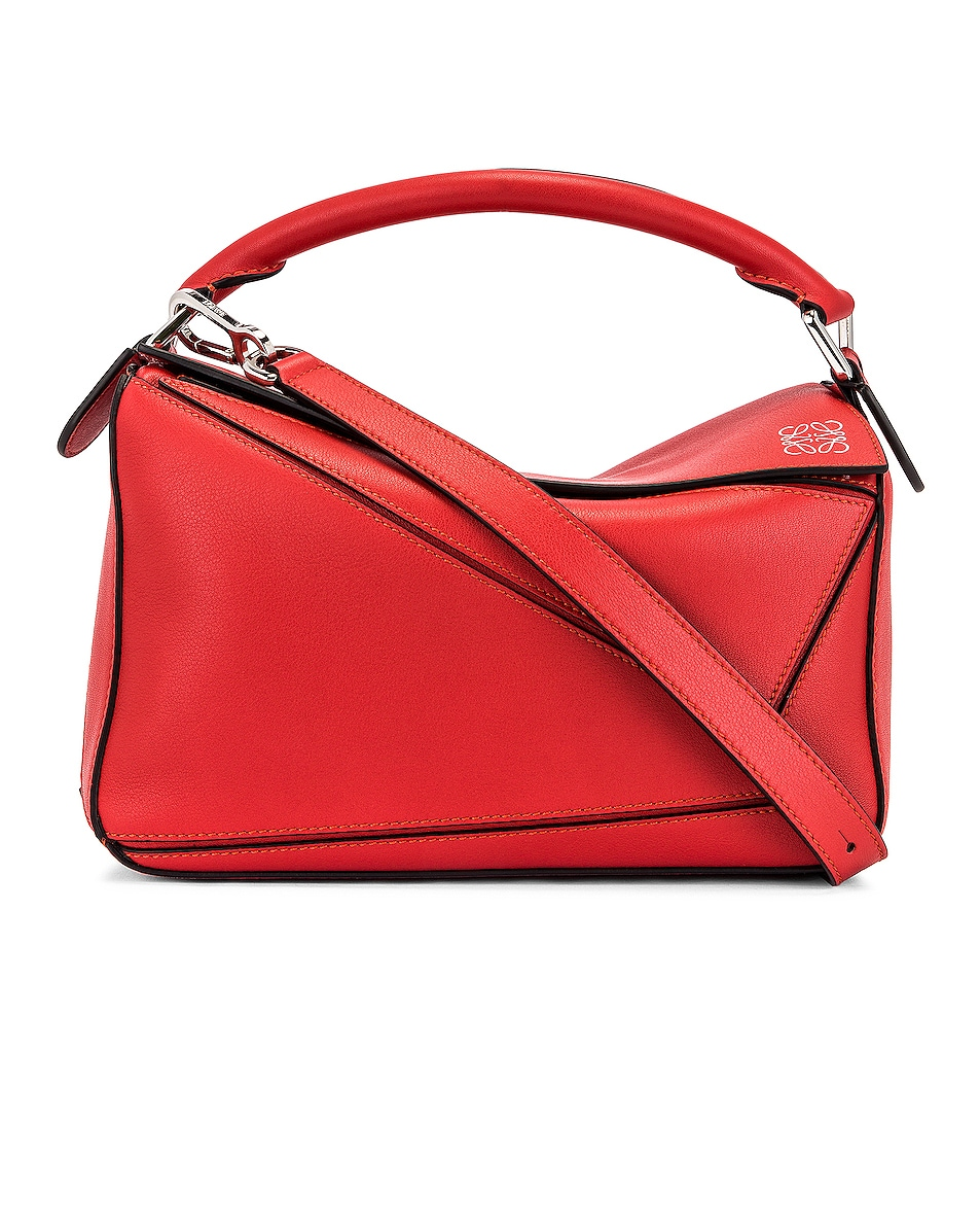 Image 1 of Loewe Puzzle Small Bag in Pomodoro