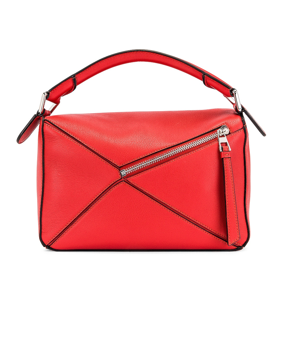 Image 3 of Loewe Puzzle Small Bag in Pomodoro