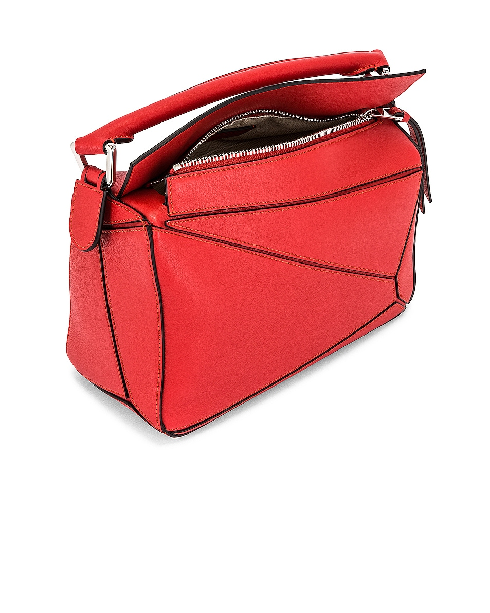 Image 5 of Loewe Puzzle Small Bag in Pomodoro