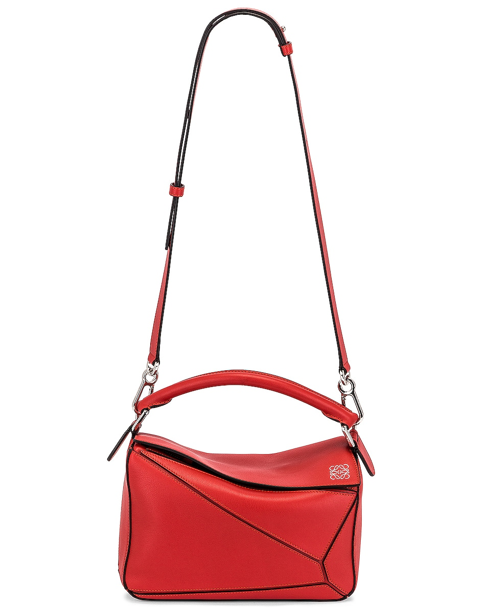 Image 6 of Loewe Puzzle Small Bag in Pomodoro