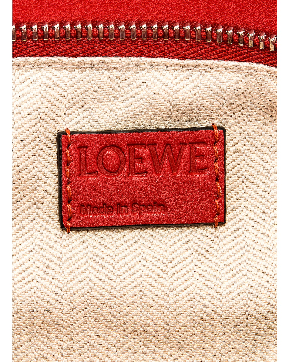 Image 7 of Loewe Puzzle Small Bag in Pomodoro