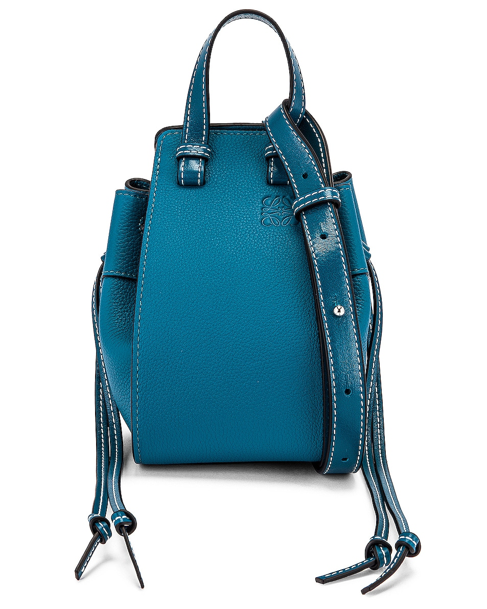 Image 1 of Loewe Hammock DW Mini Bag in Dark Lagoon