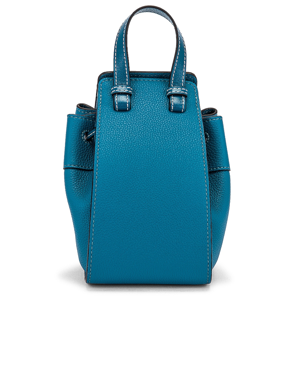 Image 3 of Loewe Hammock DW Mini Bag in Dark Lagoon