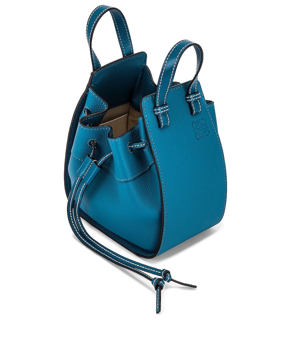 Image 5 of Loewe Hammock DW Mini Bag in Dark Lagoon
